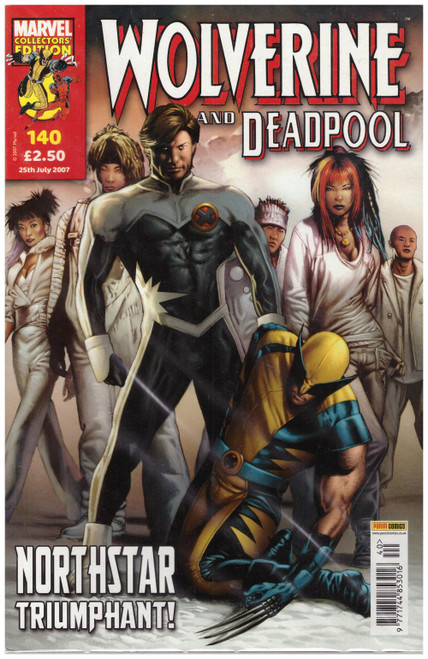 Wolverine And Deadpool #140 Jul 07 from Marvel/Panini Comics UK