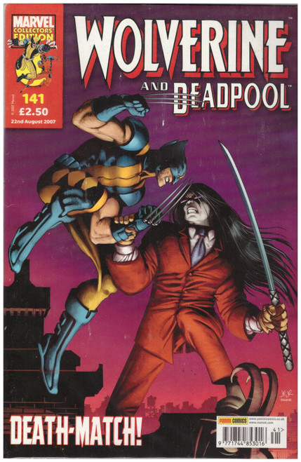Wolverine And Deadpool #141 Aug 07 from Marvel/Panini Comics UK