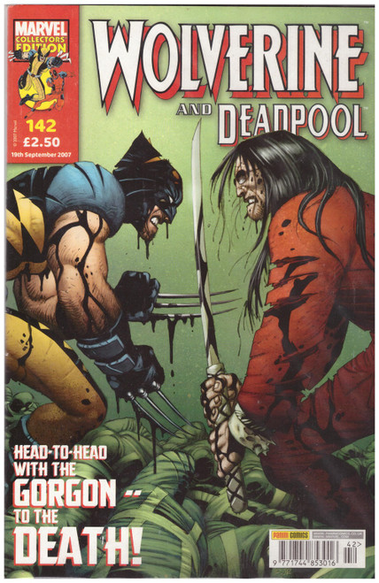 Wolverine And Deadpool #142 Sep 07 from Marvel/Panini Comics UK