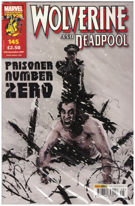 Wolverine And Deadpool #145 Dec 07 from Marvel/Panini Comics UK