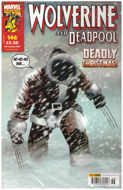 Wolverine And Deadpool #146 Jan 08 from Marvel/Panini Comics UK