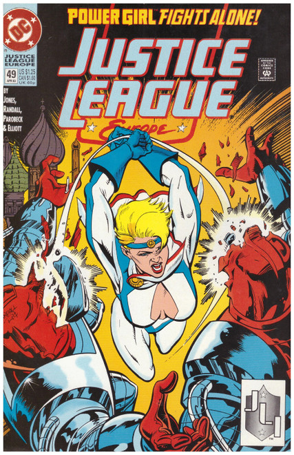 Justice League Europe #49 Apr 93 from DC Comics