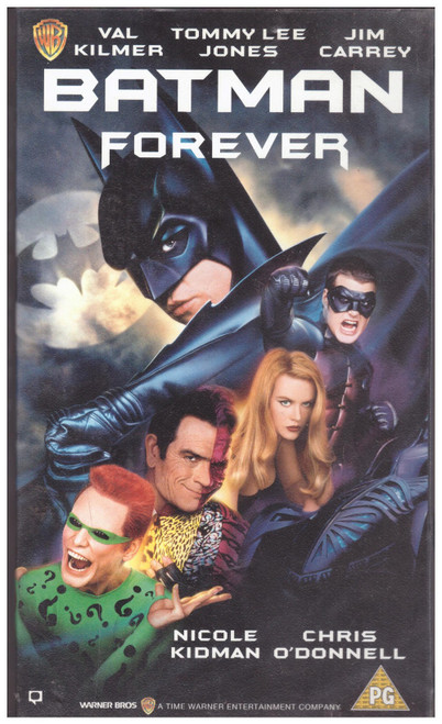 Batman Forever VHS from Warner Home Video (S013666)