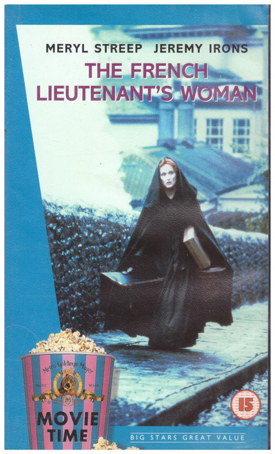 The French Lieutenant's Woman VHS from MGM/UA Home Video (S050181)