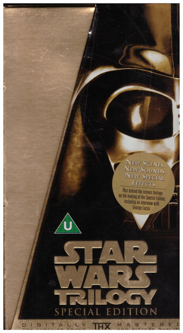 Star Wars Trilogy Special Edition Gold Box VHS from 20th Century Fox/Lucasfilm (6047S)