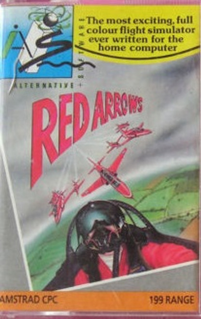 Red Arrows for Amstrad CPC by Alternative Software on Tape