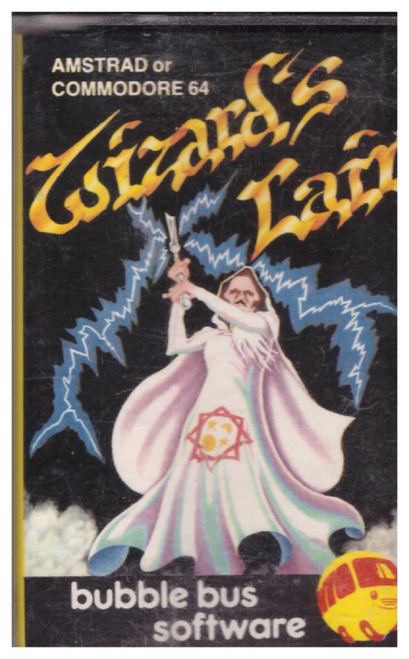 Wizard's Lair for Amstrad CPC/Commodore 64 by Bubble Bus Software