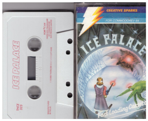 Ice Palace for Commodore 64 from Creative Sparks