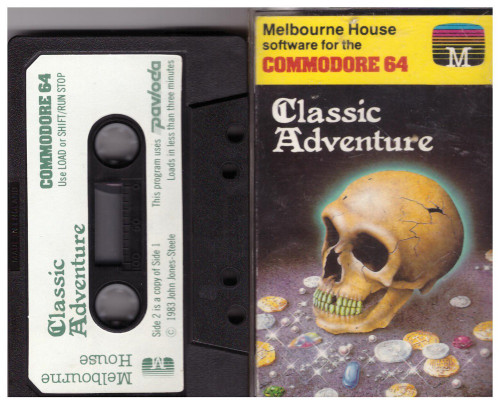 Classic Adventure for Commodore 64 from Melbourne House