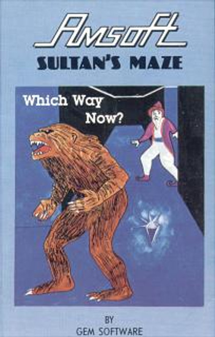Sultan's Maze for Amstrad CPC by Amsoft on Tape