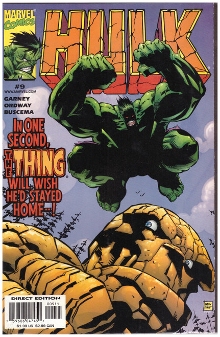 Hulk #9 Dec 99 from Marvel Comics