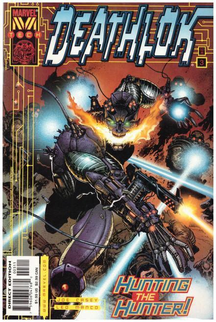 Deathlok #3 Nov 99 from Marvel Comics