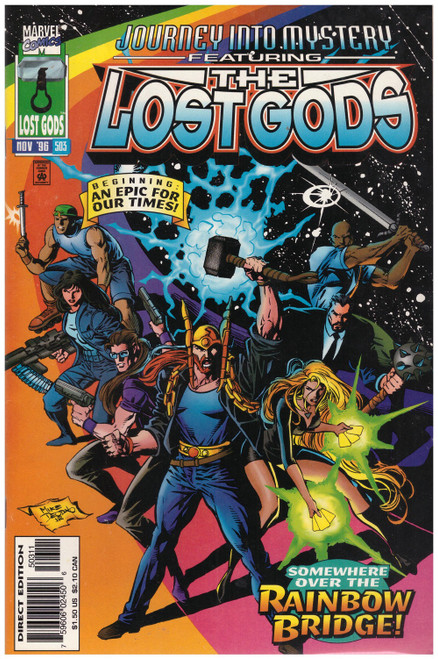 Journey Into Mystery Featuring The Lost Gods #503 Nov 96 from Marvel Comics