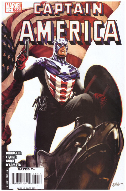 Captain America #34 Mar 08 from Marvel Comics