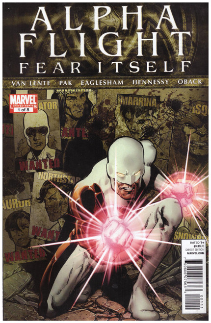 Alpha Flight: Fear Itself #1 Aug 11 from Marvel Comics