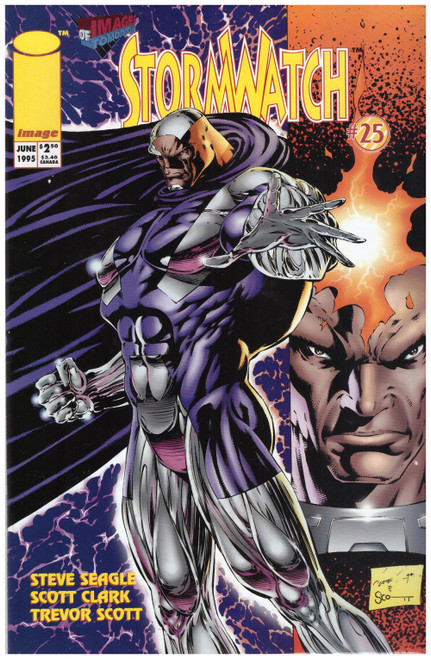 Stormwatch #25 Jun 95 from Image Comics