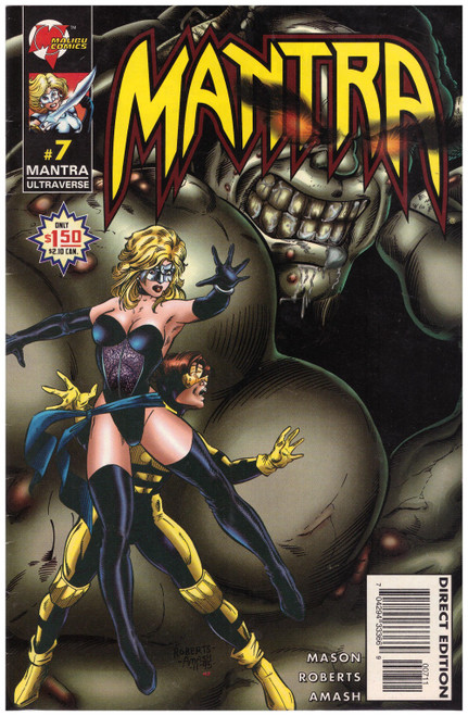 Mantra #7 Apr 96 from Malibu Comics