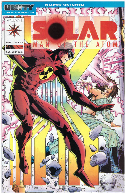 Solar: Man Of The Atom #13 Sep 92 from Valiant Comics