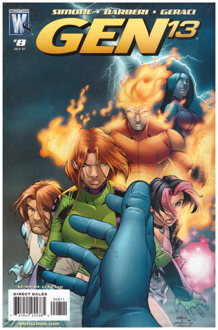 Gen 13 #8 Jul 07 from Wildstorm Comics