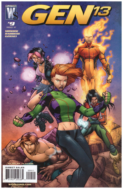 Gen 13 #9 Aug 07 from Wildstorm Comics