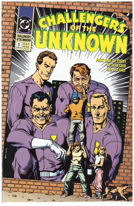 Challengers Of The Unknown #1 Mar 91 from DC Comics