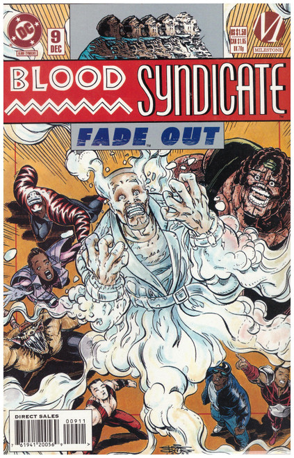 Blood Syndicate #9 Dec 93 from DC Comics