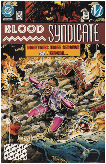 Blood Syndicate #6 Sep 93 from DC Comics