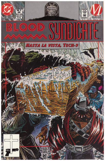 Blood Syndicate #5 Aug 93 from DC Comics
