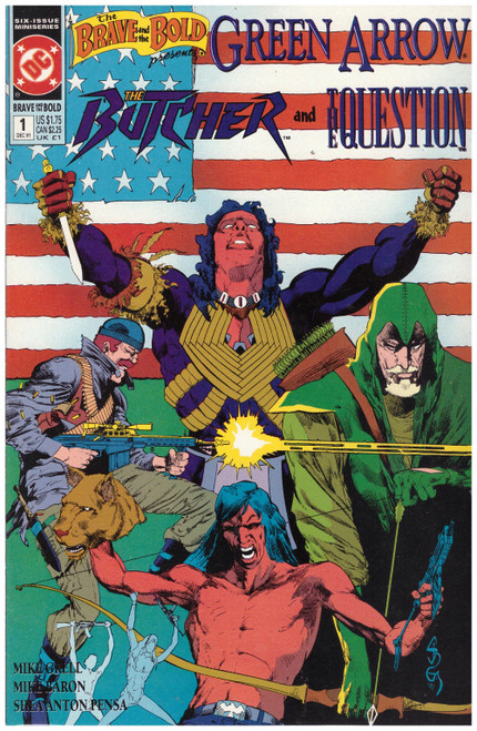 The Brave And The Bold Presents: Green Arrow, The Butcher And The Question #1 Dec 91 from DC Comics