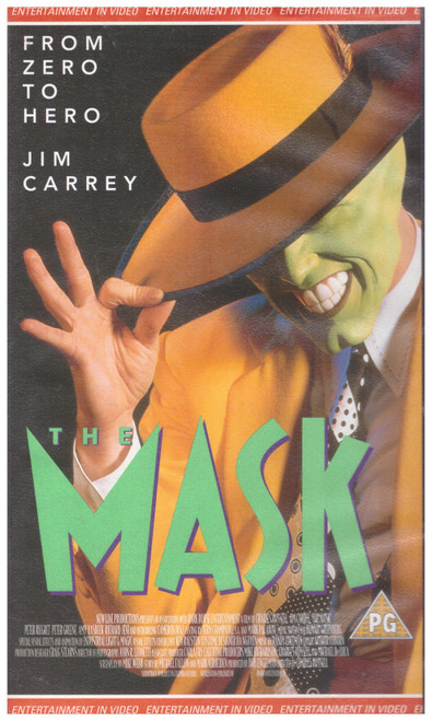 The Mask VHS from Entertainment In Video (EVS 1164)