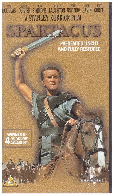 Spartacus VHS from Universal (9024313)