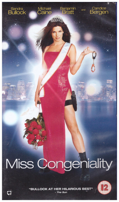 Miss Congeniality VHS from Warner Home Video (S018976)