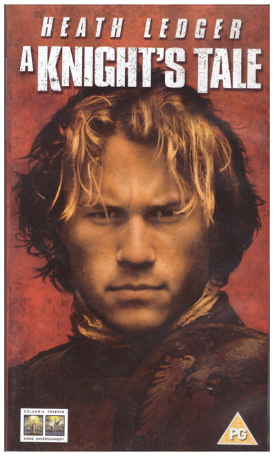 A Knight's Tale VHS from Columbia Tristar Home Entertainment (C820 8551)