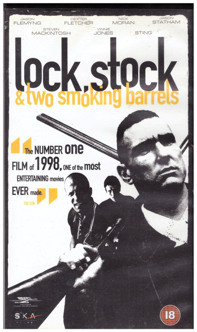 Lock, Stock & Two Smoking Barrels VHS from Polygram Filmed Entertainment (0593903)