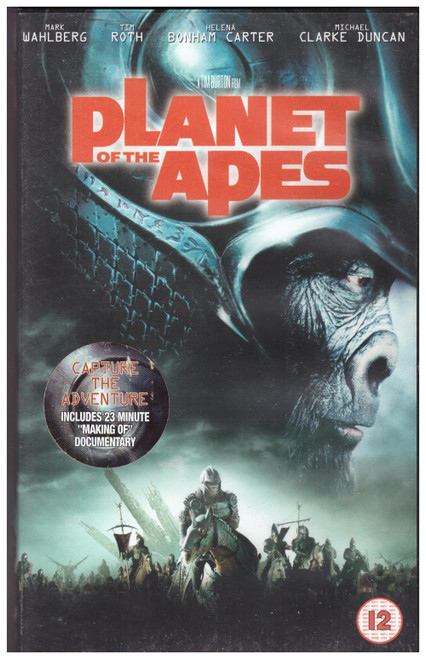 Planet Of The Apes VHS from 20th Century Fox Home Entertainment (22080S)