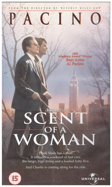 Scent Of A Woman VHS from 4 Front Video (044 8523)