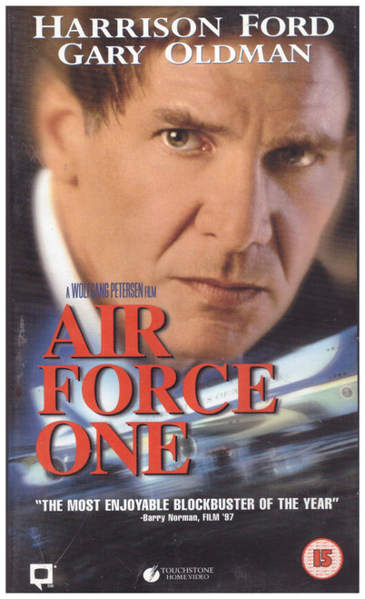 Air Force One VHS from Touchstone Home Video (D610248)