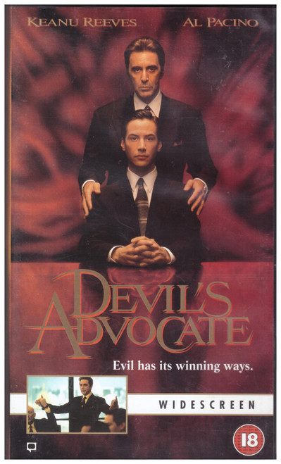 Devil's Advocate VHS from Warner Home Video (S015090)