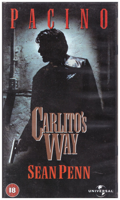 Carlito's Way VHS from 4 Front Video (044 4303)
