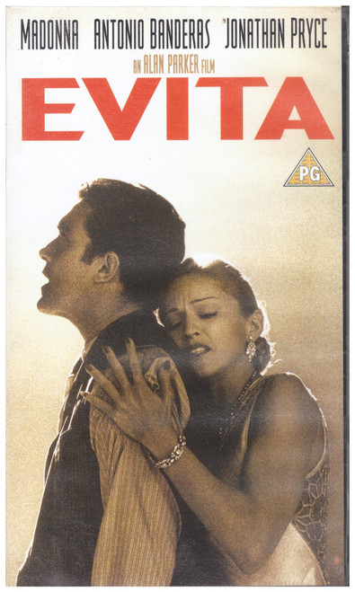 Evita VHS from Entertainment In Video (EVS 1234)