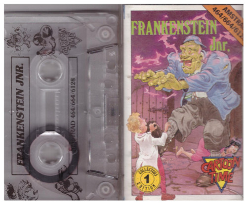 Frankenstein Jnr. for Amstrad CPC from Cartoon Time (3211)