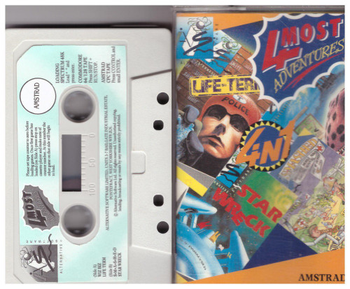 4 Most Adventures for Amstrad CPC from Alternative Software