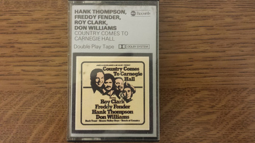 Country Comes To Carnegie Hall by Hank Thompson/Freddy Fender/Roy Clark/Don Williams from ABC Records