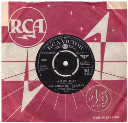 Creeque Alley by The Mama's And The Papa's from RCA (RCA 1613)
