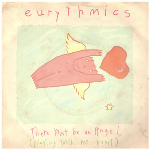 There Must Be An Angel (Playing With My Heart) by Eurythmics from RCA (PB 40247)