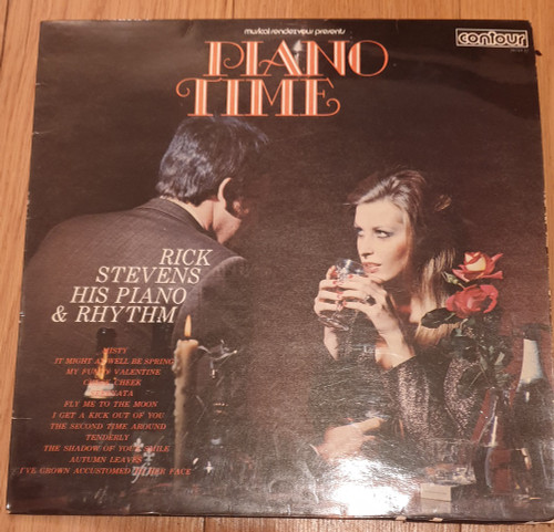 Piano Time by Rick Stevens His Piano & Rhythm from Contour (2870132)