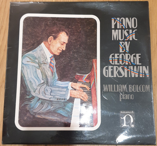 Piano Music By George Gershwin by William Bolcom from Nonesuch (H-71284)