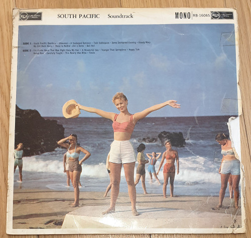 South Pacific Soundtrack from RCA Victor (RB-16065)