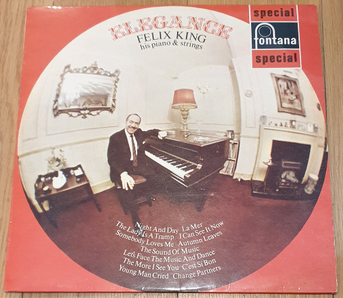 Elegance by Felix King His Piano & Strings from Fontana (SFL13133)