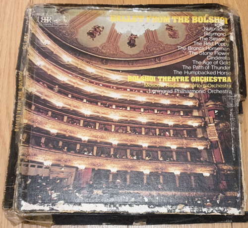 Ballet From The Bolshoi from Melodiya/His Master's Voice (SLS 891)